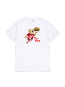 Bear Boy T-Shirt White