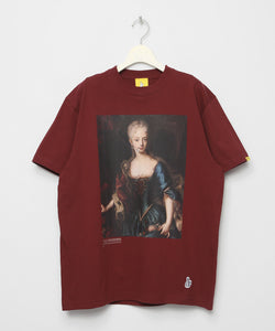 The Empress Tee ( Burgundy )