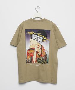 Ukiyoe Smoking Kills Tee ( Khaki )