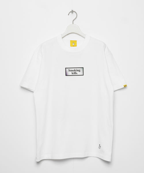 Ukiyoe Smoking Kills Tee ( White )