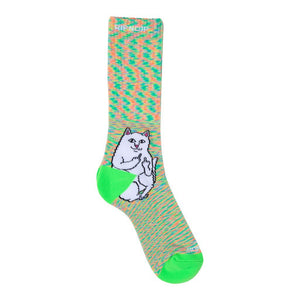 Lord Nermal Socks Neon Speckle