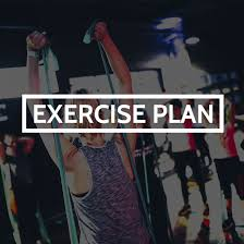 4 Week Exercise Plan