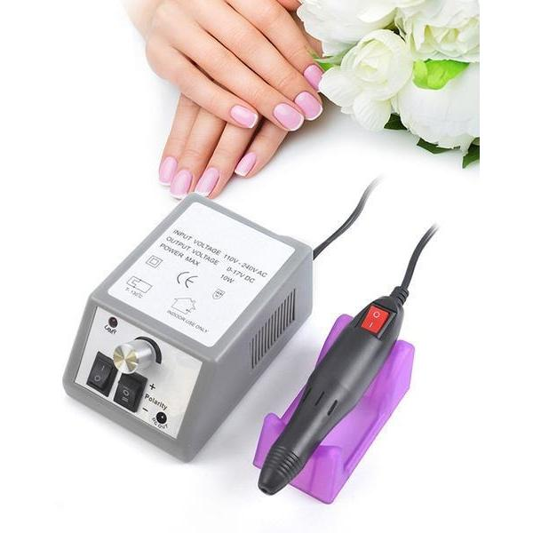 Nail Smash Professional 20k RPM Electric Nail File Drill w/ Cradle ...