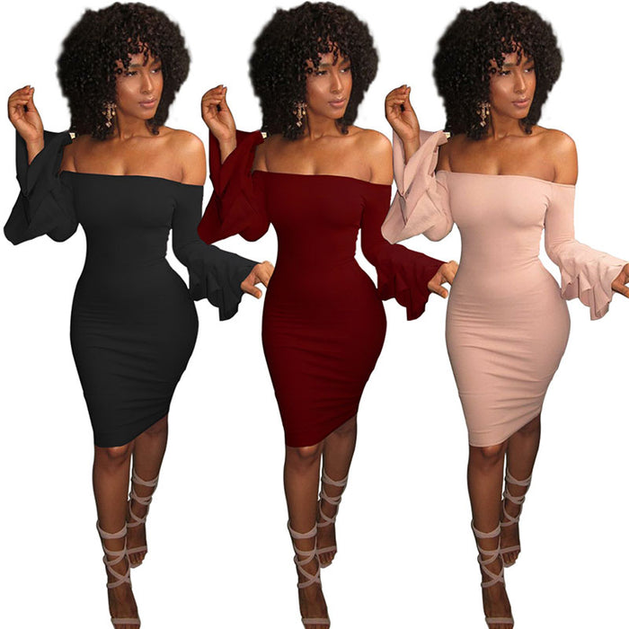 d8f59b0e421405 Bell Sleeve Bodycon Dress - 3 Colors Available! — VanitySmash™