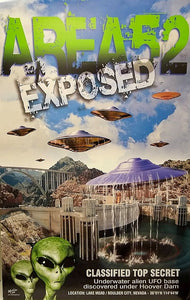 Area 52 Exposed - Poster