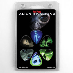 Alien : Invasion Guitar Picks