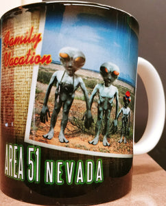 Family Vacation at Area 51 Mug