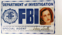 Scully FBI LIcense