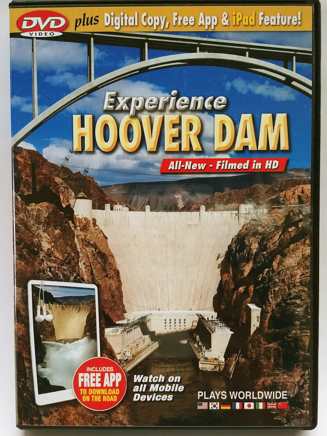 Experience Hoover Dam DVD PLUS digital copy