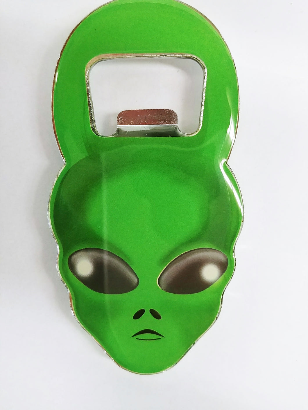 Green Alien Bottle Opener Magnet