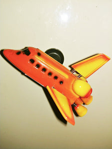 Retro Space Shuttle Magnet