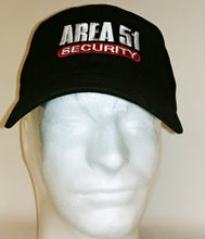 Area 51 Security Hat Black