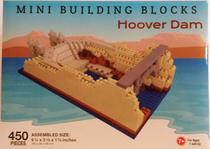 Hoover Dam - Mini Building Blocks