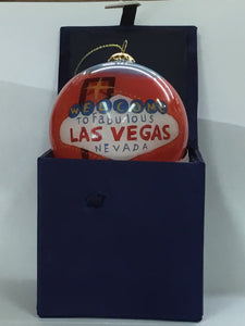 "Welcome to Las Vegas 3"" Ornament"