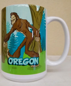 Bigfoot 15 oz Mug
