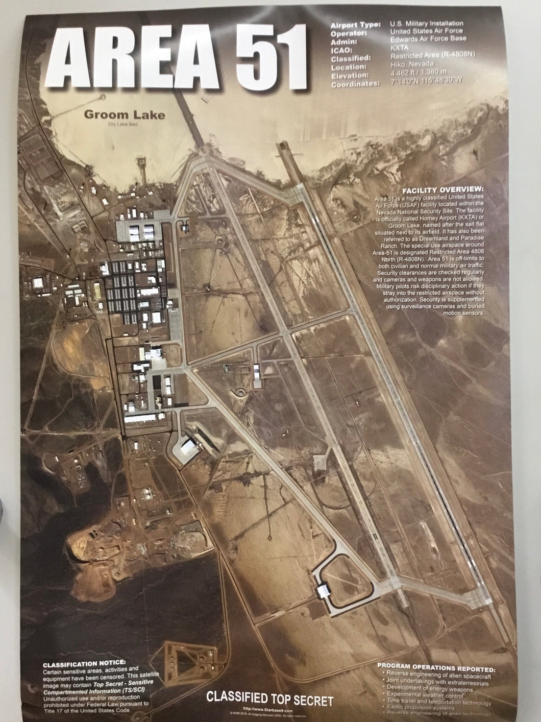 Area 51 Satellite Poster