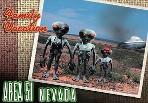 Alien Postcards