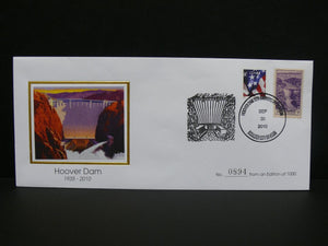 "75th Anniversary special collector's envelope with .03 stamp issued in 1935 the stamp features ""Boulder Dam,"""