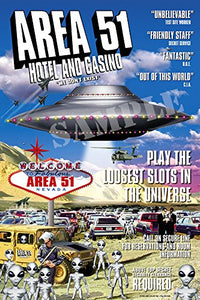 Area51 Hotel Casino Greeting card