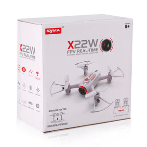 X22W FPV Real-Time RC Quadcopter Drone