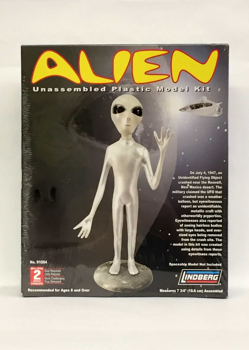 Alien unassembled plastic model