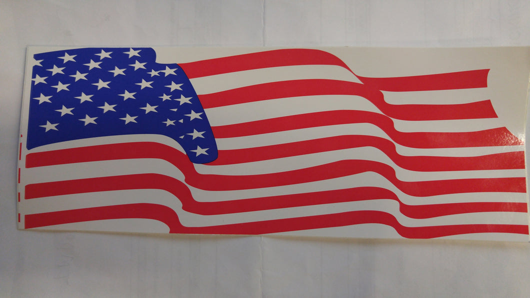 American Flag Decal Sticker