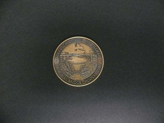 COIN - Antique Bronze Exclusive Commemorative Bridge Coin