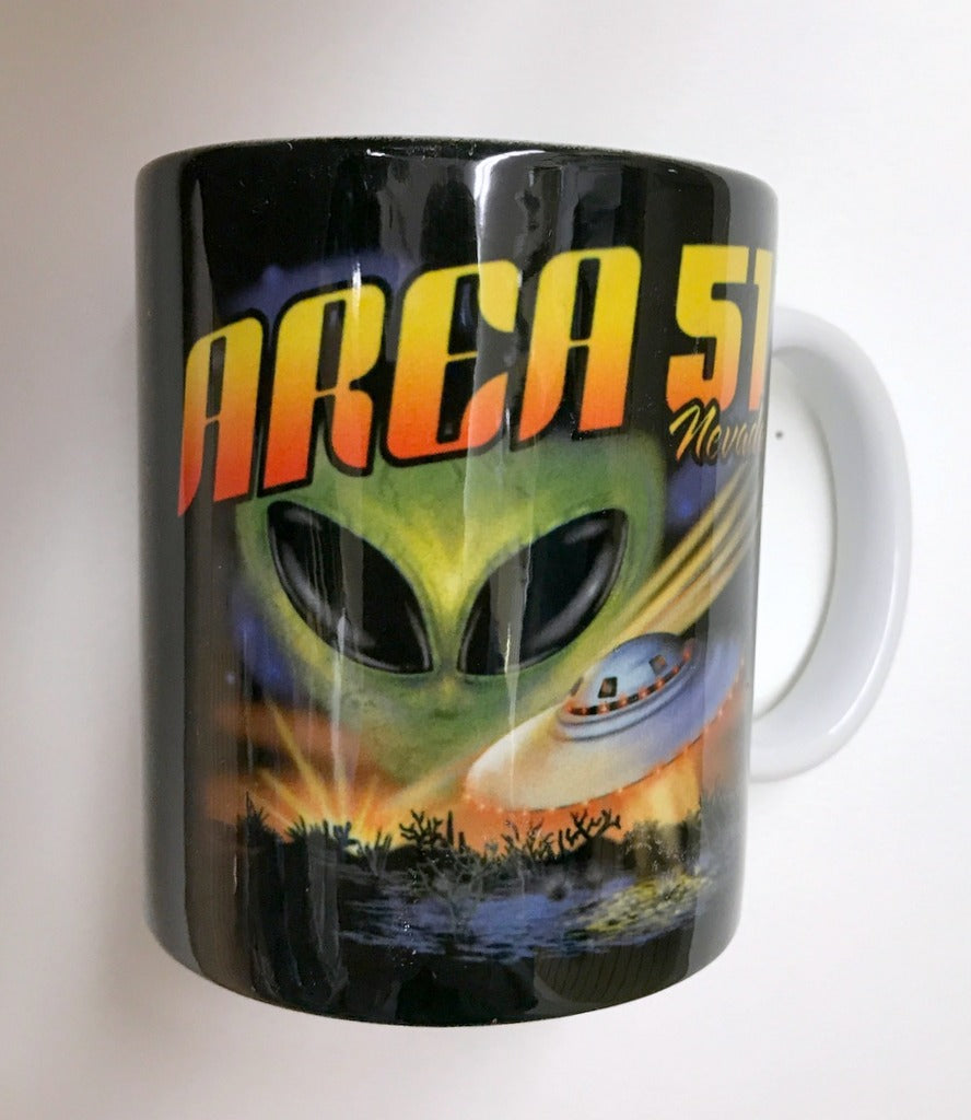 Area 51 Black Nv mug