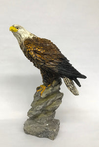 Eagle on Rock 11 1/2in