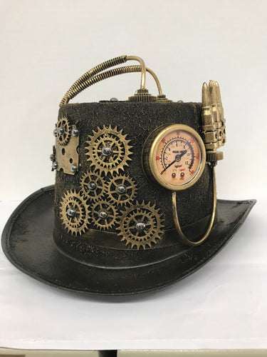 Turbine Steampunk Top Hat