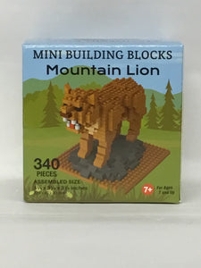 Mountain Lion- 340 Piece Mini Building Blocks