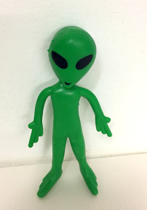 Bendable Green Alien