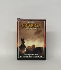 Discover Cowboys - Playing Cards