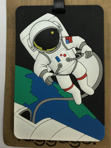 Luggage Tag Astronaut