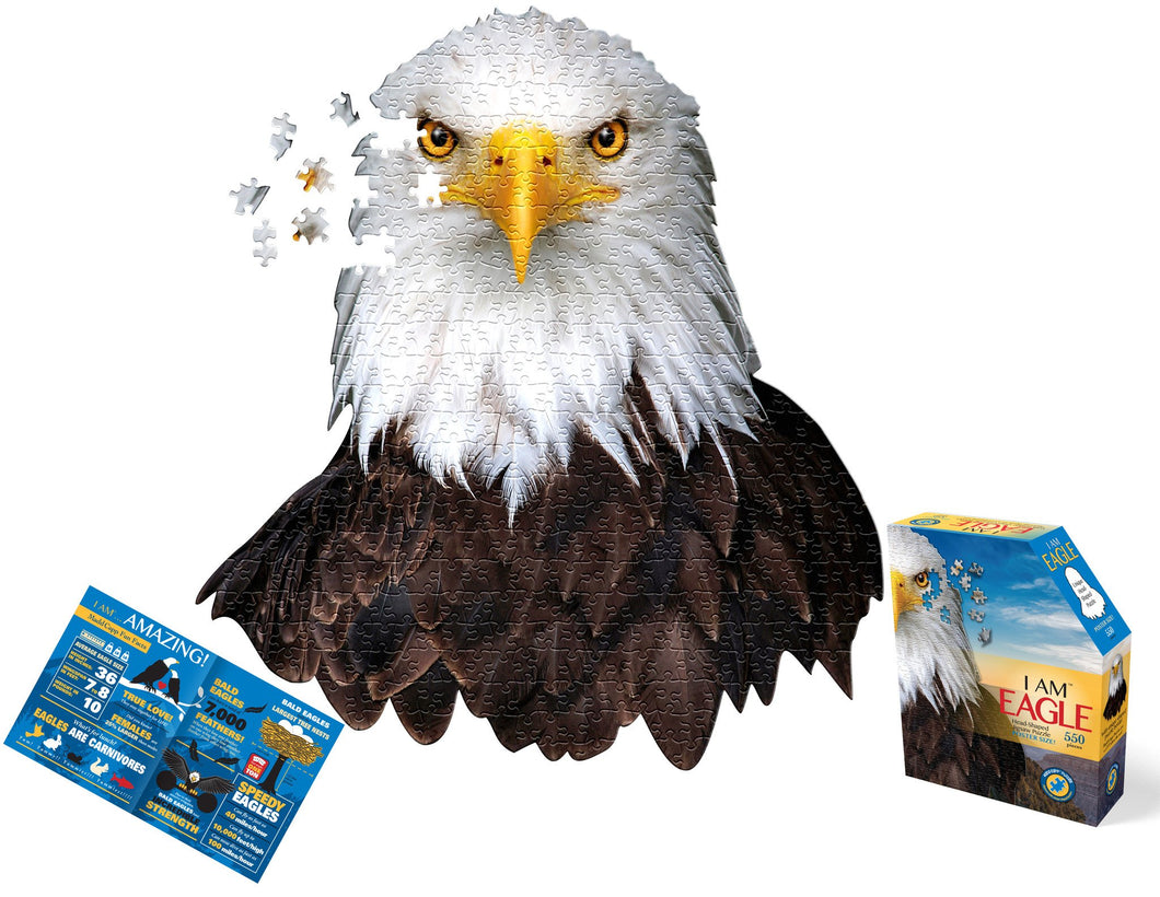 I Am Eagle -  550 Piece Puzzle