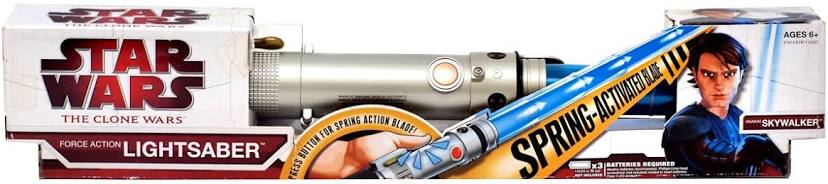 Star Wars The Clone Wars Force Action Lightsaber