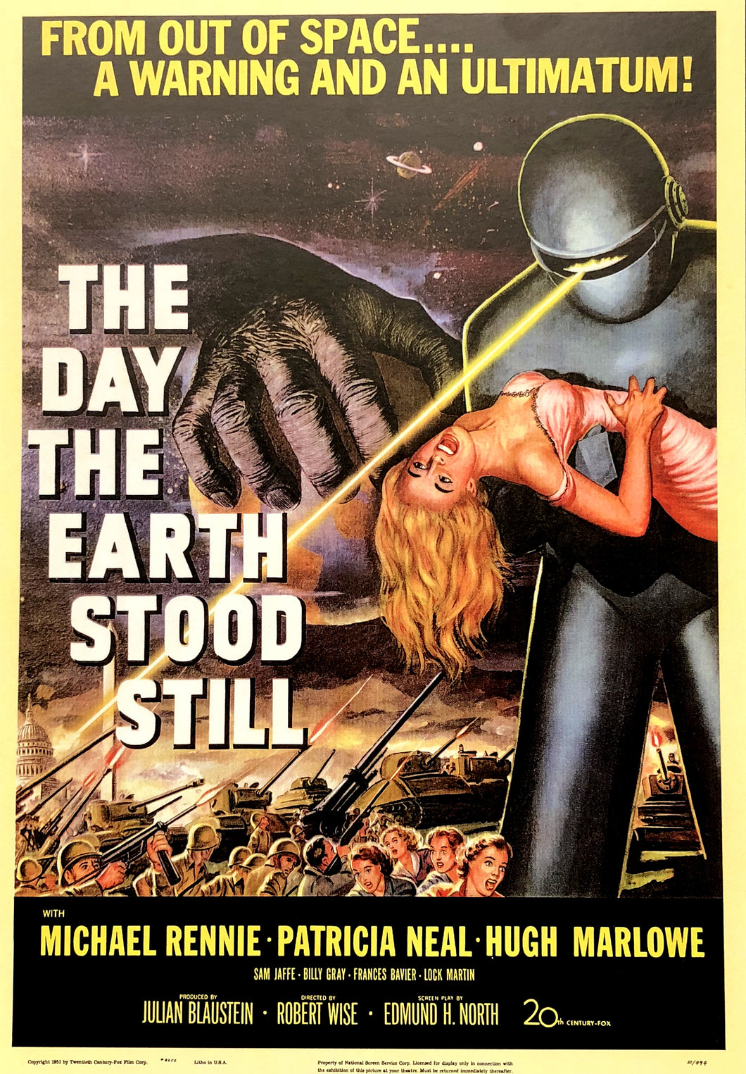 The Day the Earth Stood Still - Poster
