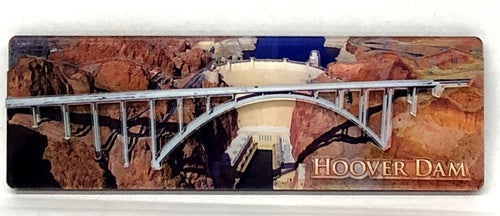 Hoover Dam 3-D Acrylic Magnet