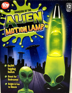 "13"" Alien Motion Lamp"