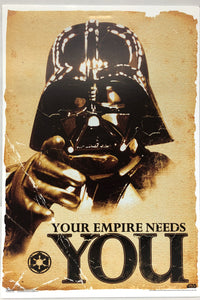 Star Wars- Empire Needs You Poster 24 X 36