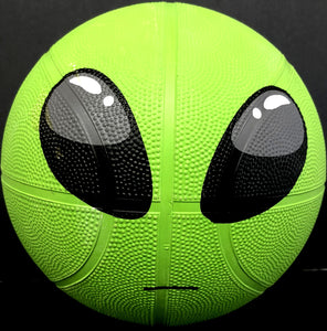 "9.5"" Alien regulation basketball"