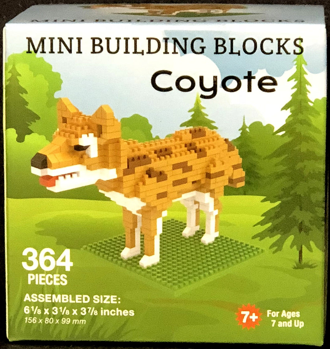 Coyote - 364 Piece Mini Building Blocks