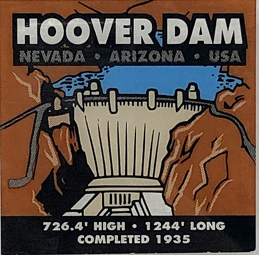 Hoover Dam Decal