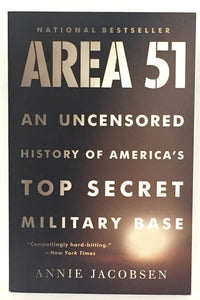 Area 51 Book- National Bestseller