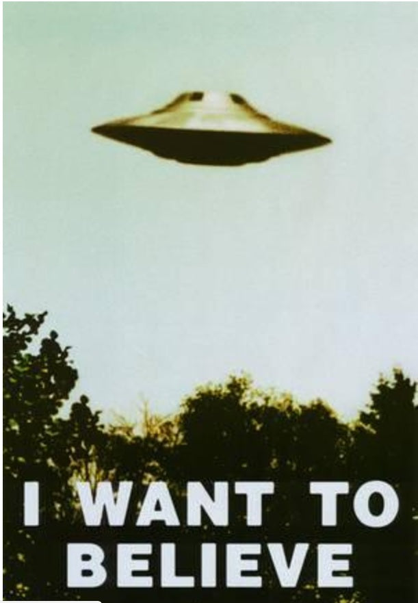 Poster - I WANT TO BELIEVE