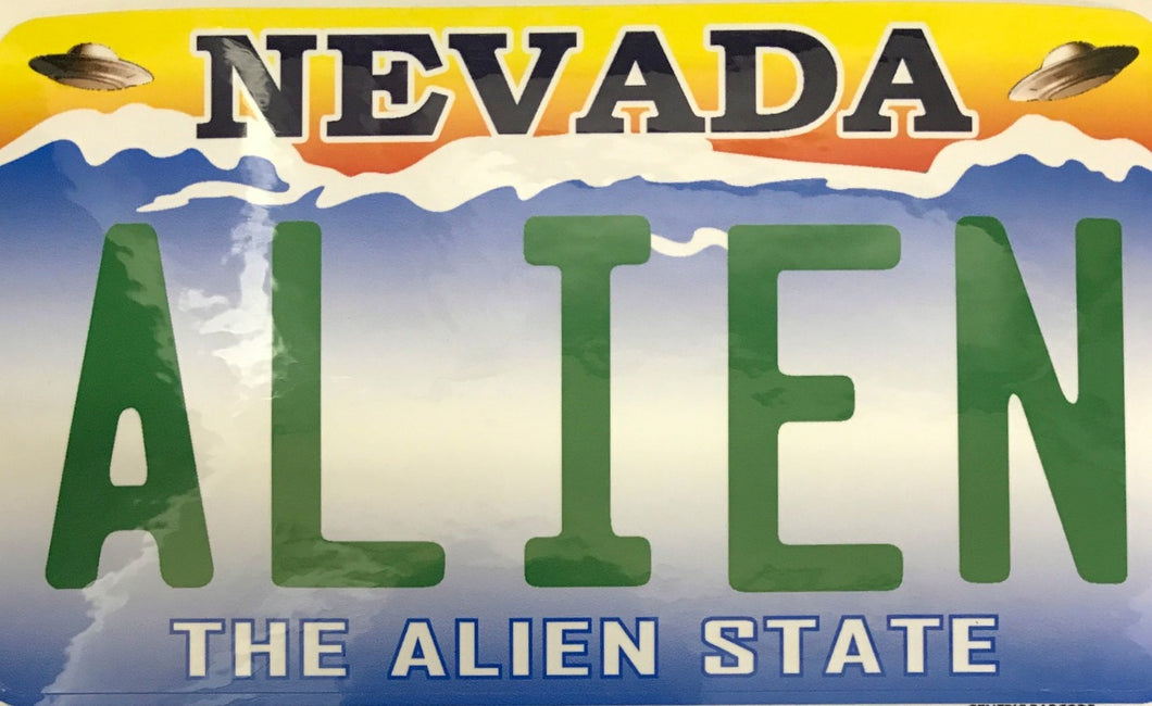 Sticker – Nevada Alien