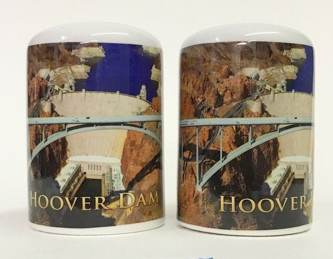 Hoover Dam Bridge Salt & Pepper Shakers