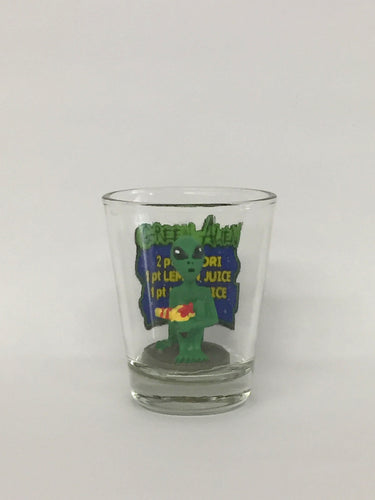 Green Alien Shotglasses