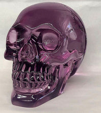 "4.5"" Translucent Blue/Purple Skull"