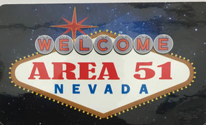 Sticker- Welcome Area 51 Nevada